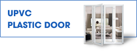 uPVC plastic door